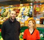 Hannes Egger und Geschäftsführerin Gertrud Dietl - DeSPAR Diet